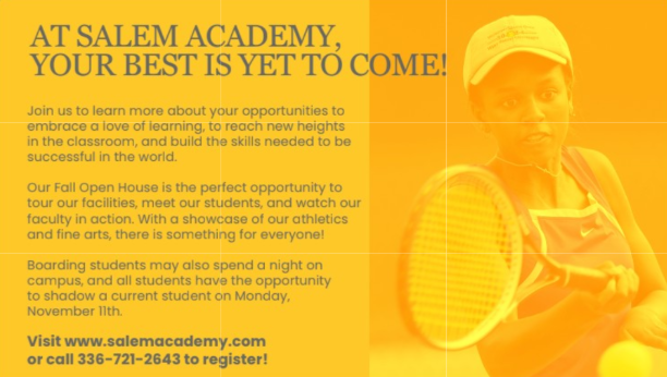 Admissions Open House