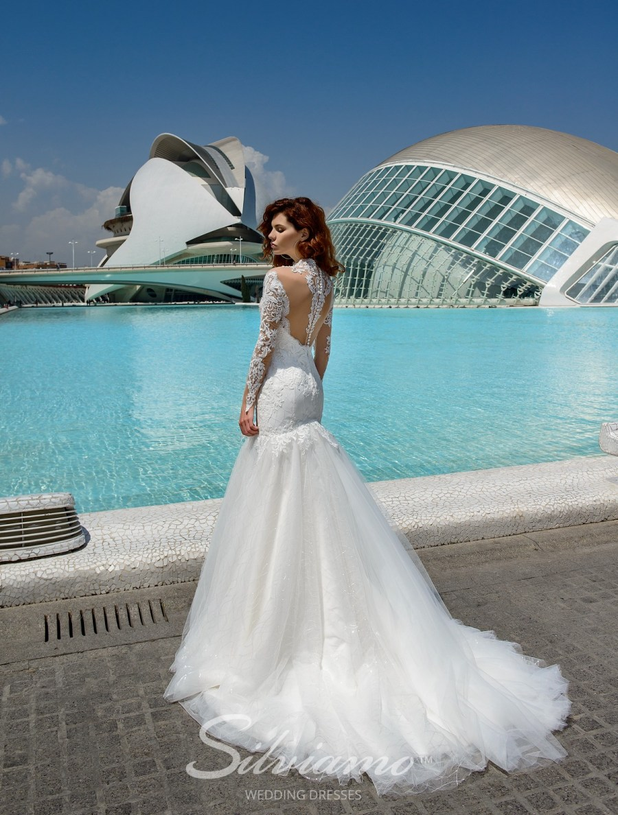 Весільну сукню рибка фото
