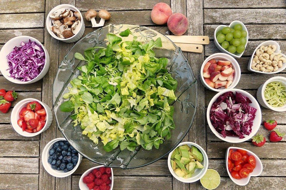 Salad, Fruits, Berries, Healthy, Vitamins, Fresh, Food