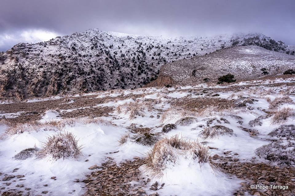 La imagen puede contener: cielo, montaña, nieve, exterior y naturaleza