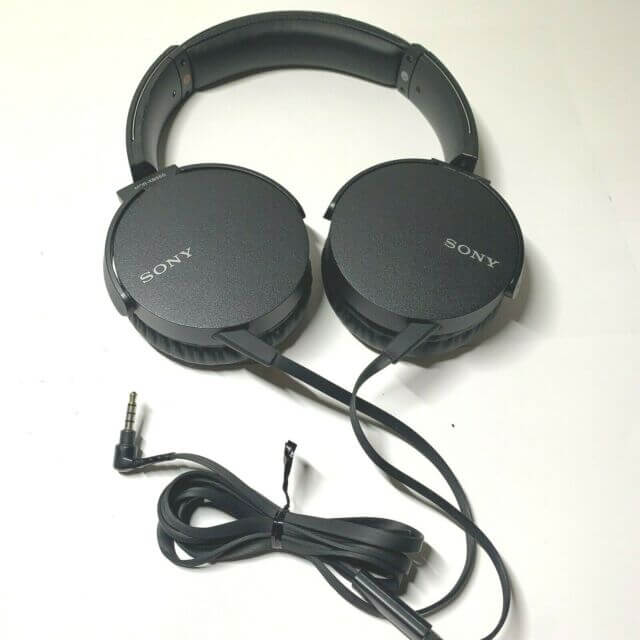 Sony MDR-XB550AP Wired Extra Bass On-Ear Headphones