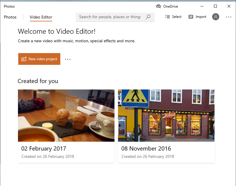 How to rotate a video in Windows Video Editor