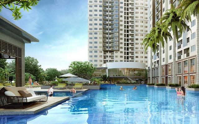 Dự án căn hộ C River view có 2 block cao 29 tầng, 1 hầm