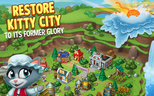 Kitty City: Kitty Cat Farm Simulation Game- screenshot thumbnail