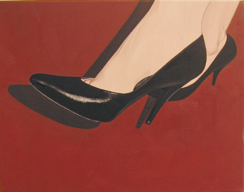 Her tastes in shoes, 2005
