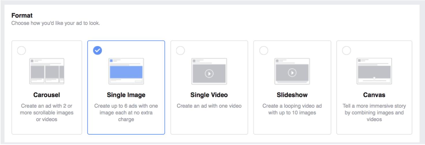 Les annonceurs qui souhaitent faire une campagne de pub Facebook efficace ont le choix parmi plusieurs publicités.