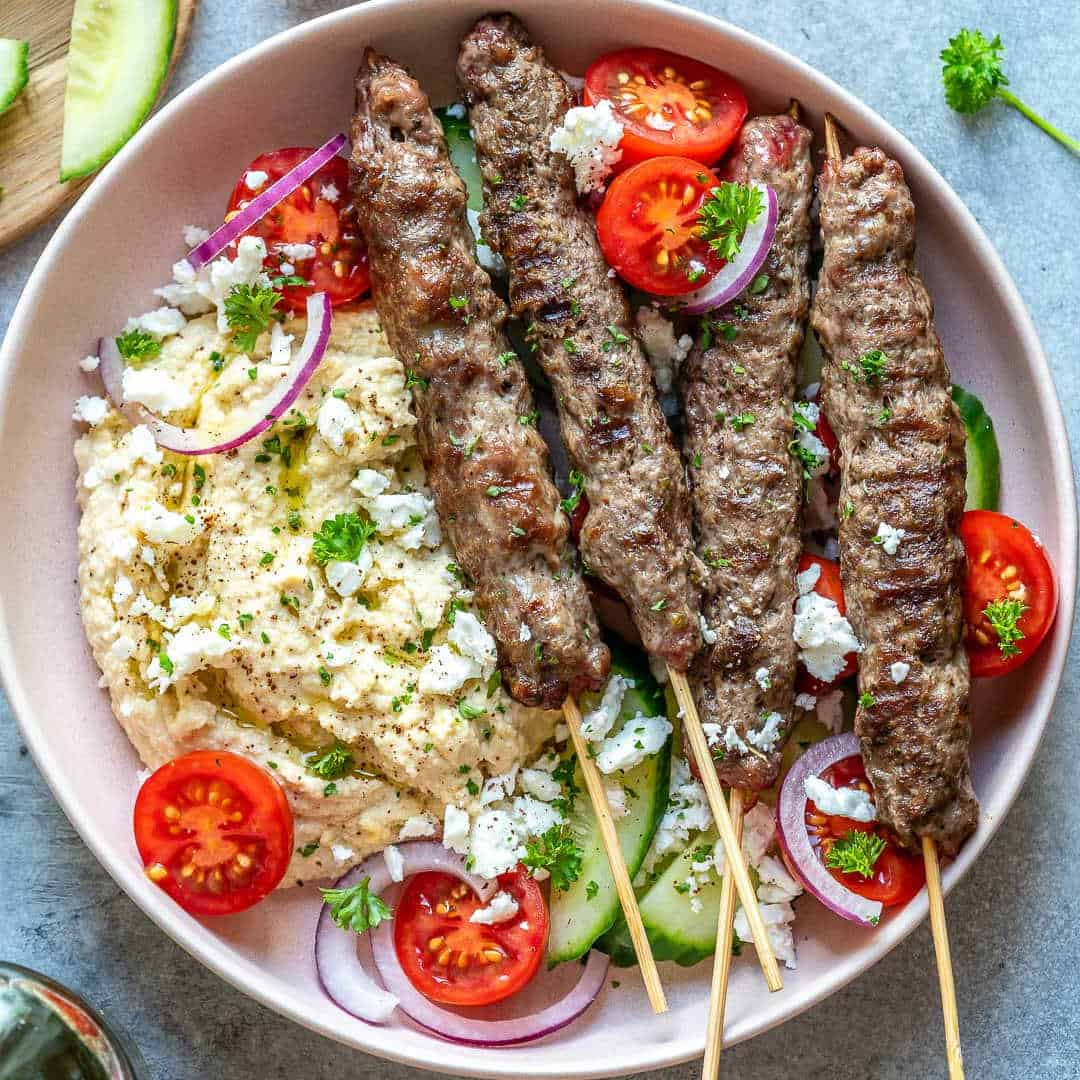 A Summer Dinner Party with Arab Dishes
