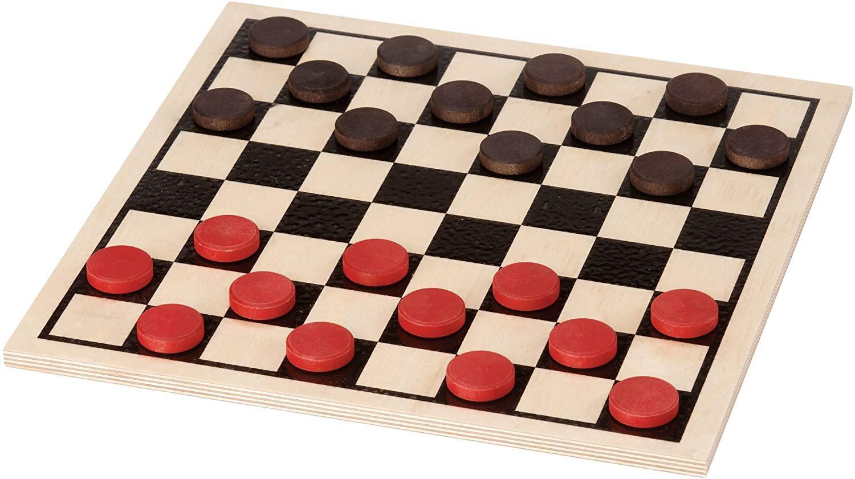 Amazon.com: Basic Checker Set - Made in USA: Toys & Games