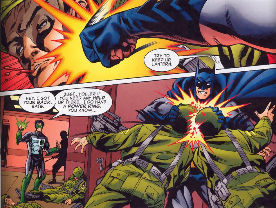 Batman beats up Turkish soldiers
