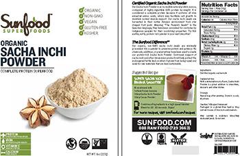Sunfood Organic Sacha Inchi Powder