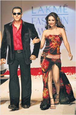 Salman khan and Malaika Arora