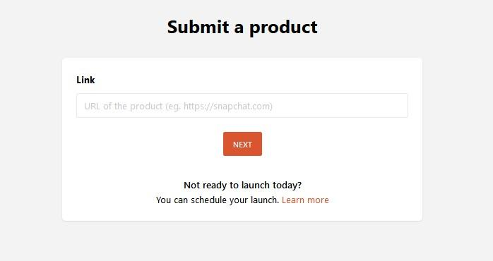 submit a product on product hunt