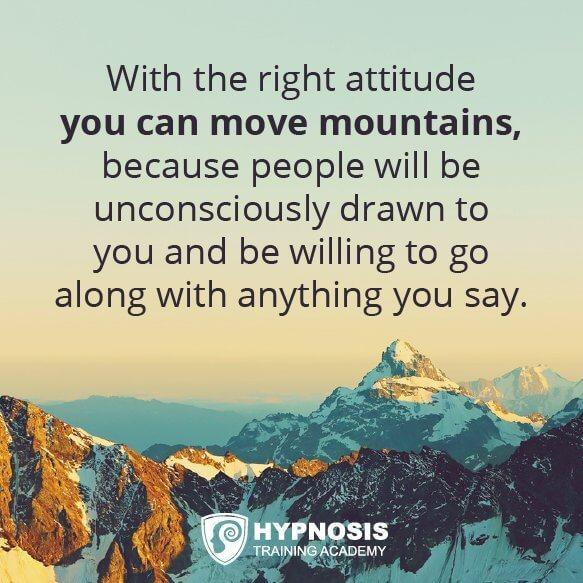 Moving mountains through conversational hypnosis