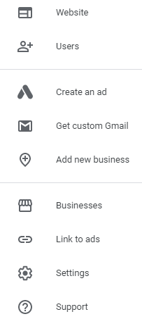 Link Google My Business to Google Ads