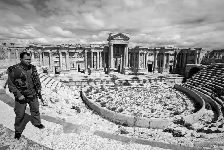 Palmira IŞİD Tehdidi Altında