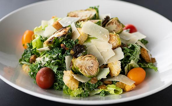 Kale Caesar Salad at Yard House