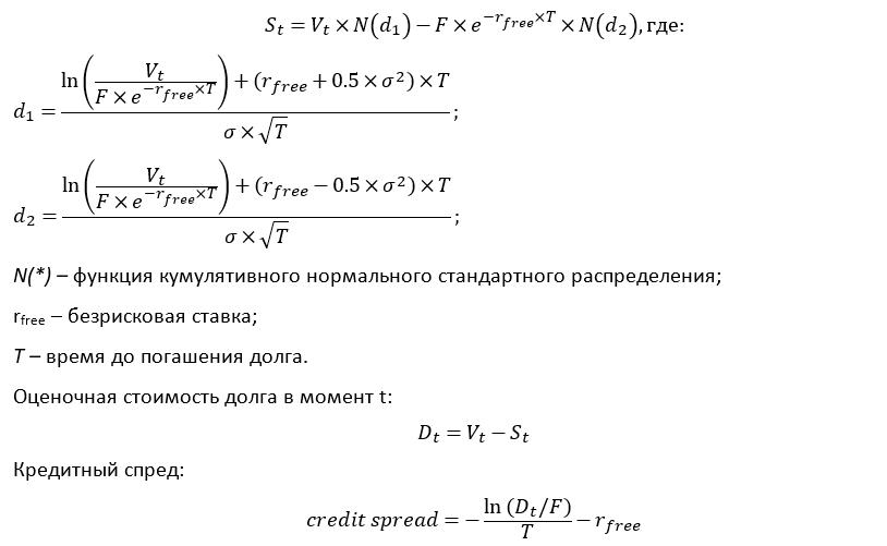 Команда Тинькофф проверяет модель оценки кредитных спредов