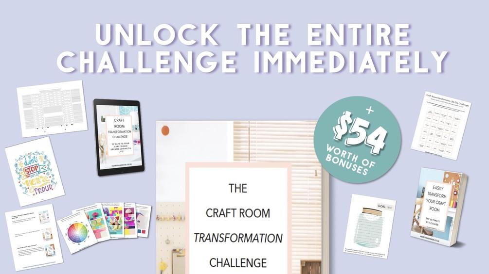Craft Room Transformation Challenge
