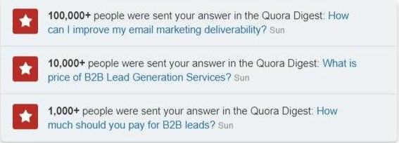 Use Quora to Grow Your Mailing List From Scratch