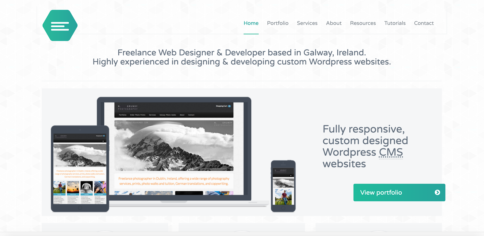 Web Developer Portfolio of Emily Ridge
