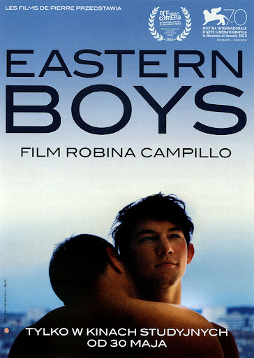 Przód ulotki filmu 'Eastern Boys'