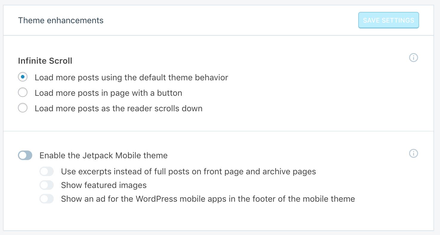 Mô-đun cuộn vô hạn từ Jetpack