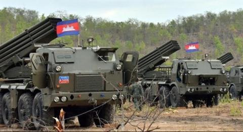 Campuchia nhan rat nhieu phao lon cua Trung Quoc