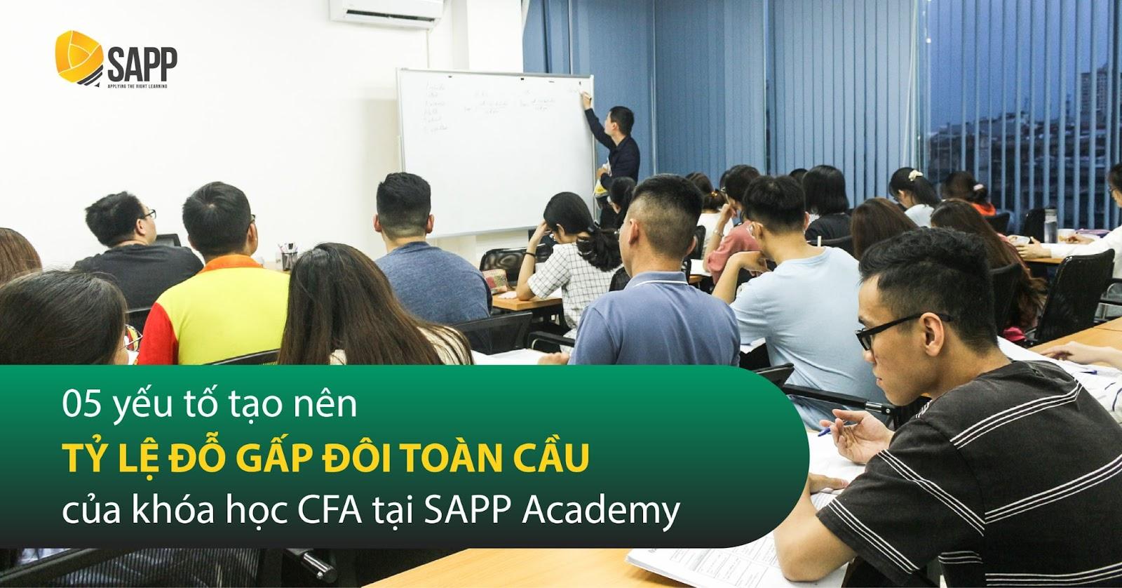 5 Yếu Tố Tạo Nên Tỷ Lệ Đỗ Gấp Đôi Toàn Cầu Của Khóa Học CFA Tại SAPP Academy