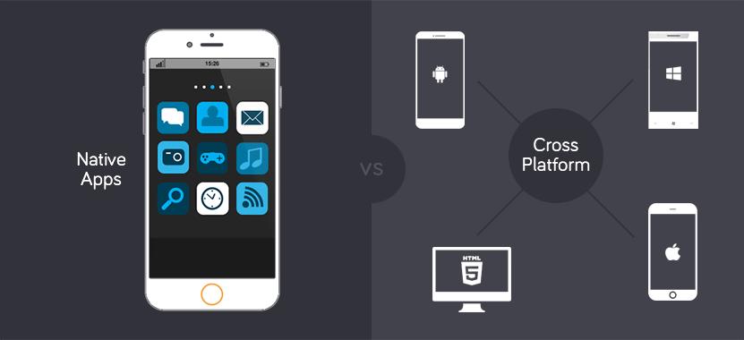 Cross platform app development vs native apps development