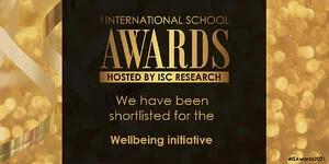 Wellbeing Finalist logo