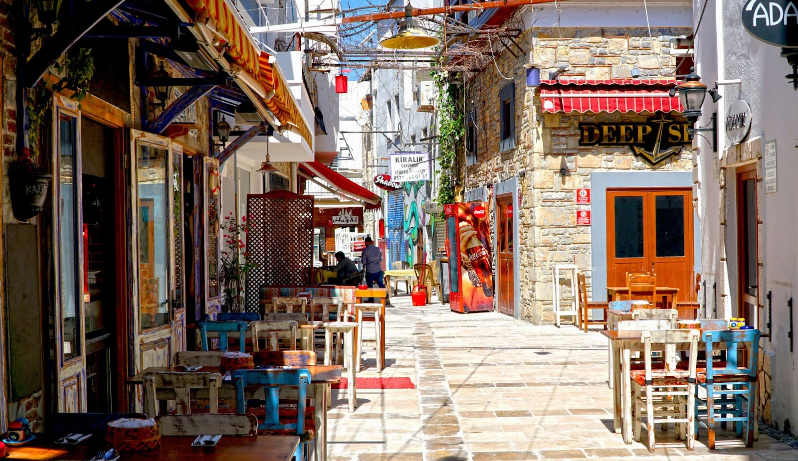 Bodrum streets