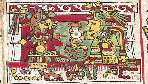 Resultado de imagem para pintura asteca