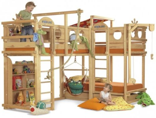 The playground bed