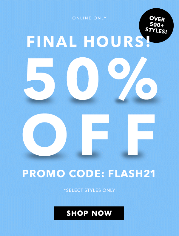"""Watch for """"Flash Sales"""""""
