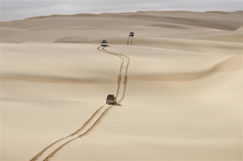 sand dune driving
