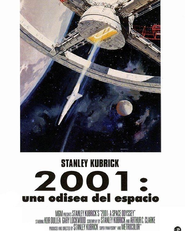2001: Una odisea del espacio (1968, Stanley Kubrick)
