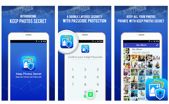 Features and Benefits Of Using Keep Photos Secret App: