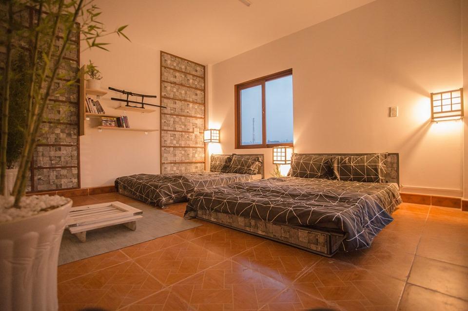 Phòng dành cho 4 người tại Thị trấn Nobi