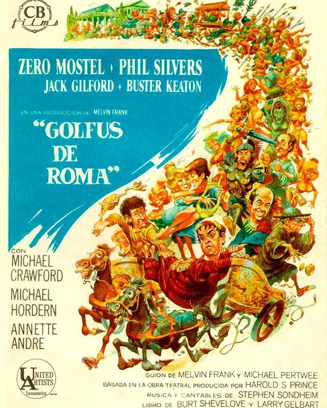 Golfus de Roma (1966, Richard Lester)