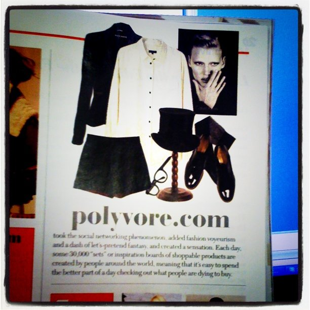 @Polyvore in the pages of @LuckyMag!