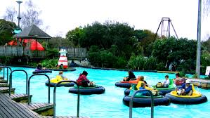 Image result for rainbows end bumper boats