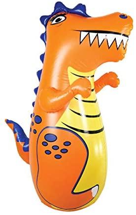 Kids Punching bag | J&A's Inflatable Dudes Dinosaur Punching Bag