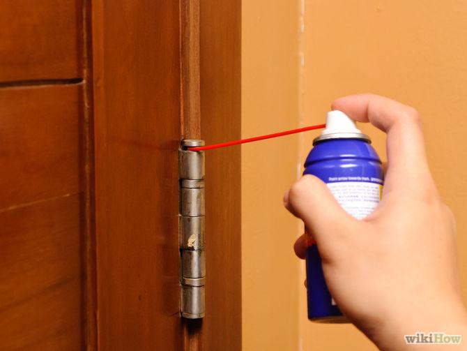 Dealing With Squeaky Door Hinges