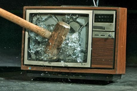 Κατάνυξις: Σπάστε τις τηλεοράσεις