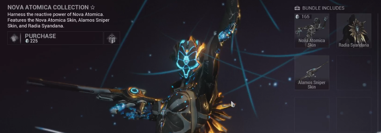 Devstream 140 Overview General Discussion Warframe Forums Features the nova atomica skin, alamos sniper skin, and radia syandana. devstream 140 overview general