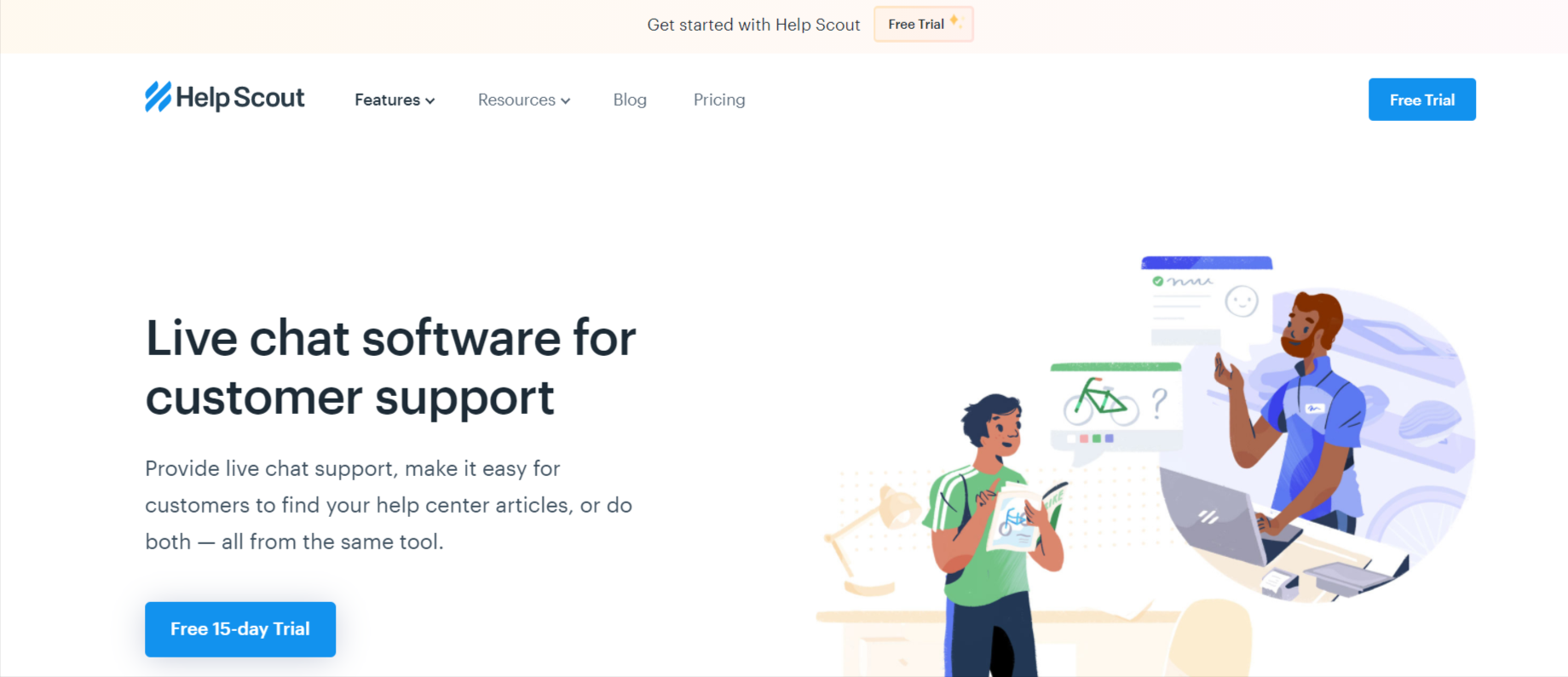 helpscout chat