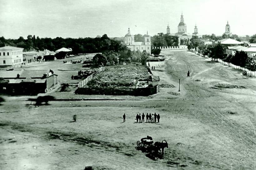 Охтирка, одна з перших світлин