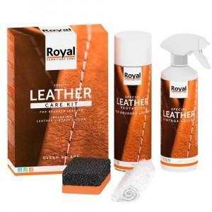 Oranje Furniture Leather Care Kit - Geschuurd Leer
