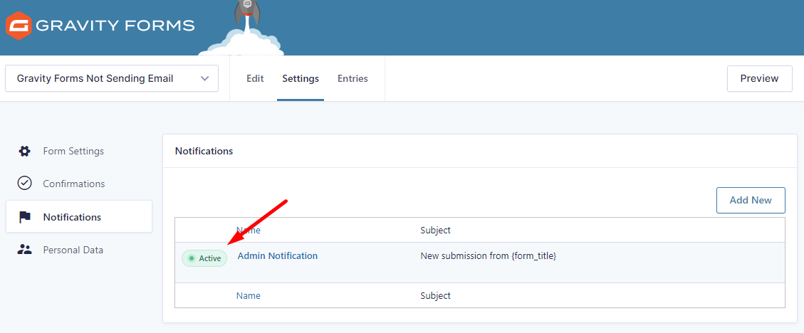 gravity forms email notification, gravity forms not sending email