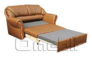 Фото разложенный диван с механизмом раскладывания выкатной, Омебли